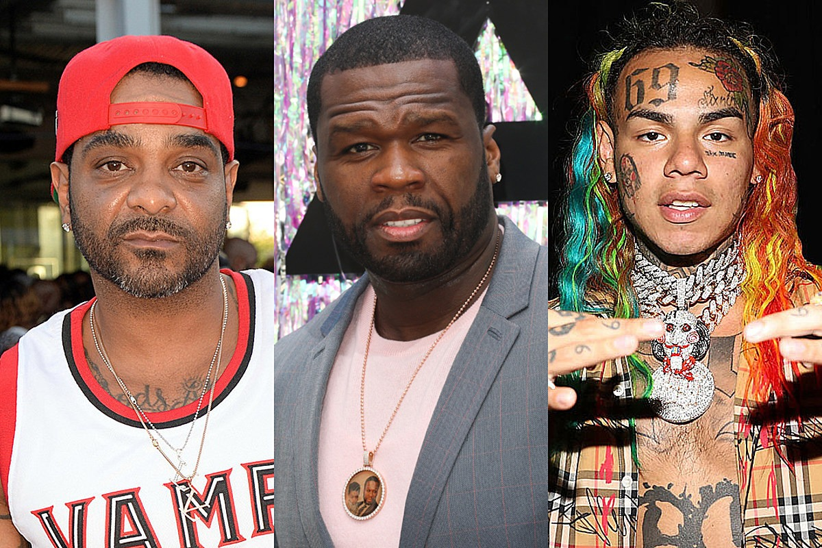 50 Cent Appears to Call Jim Jones an Informant in 6ix9ine Case, Jimmy Claps Back