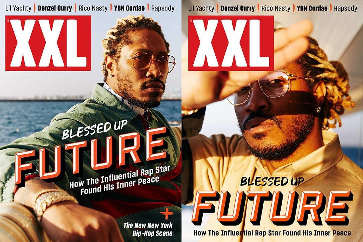 Future Covers XXL Magazine's Spring 2020 Issue