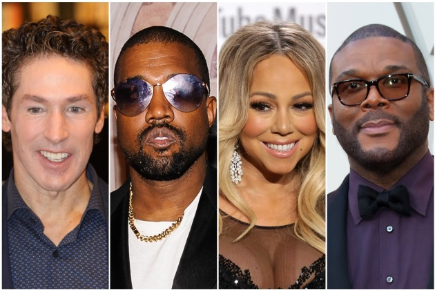Joel Osteen Taps Kanye West, Mariah Carey & Tyler Perry For Virtual Easter Service