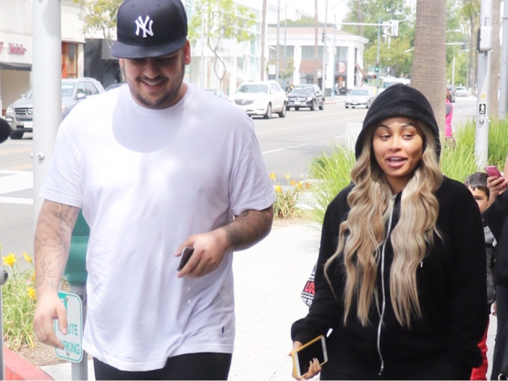 Rob Kardashian Claims Blac Chyna Held Him At Gunpoint And Now He's Scared For His Life