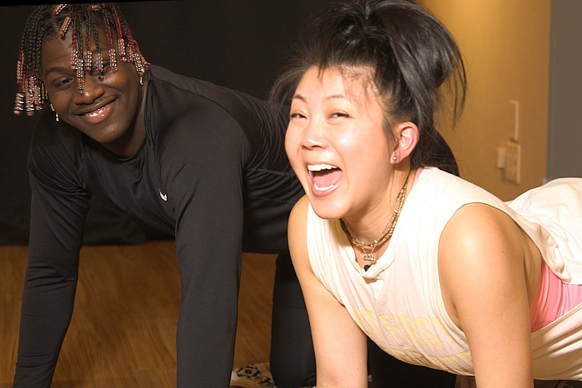 Lil Yachty Tries Hot Yoga for the First Time