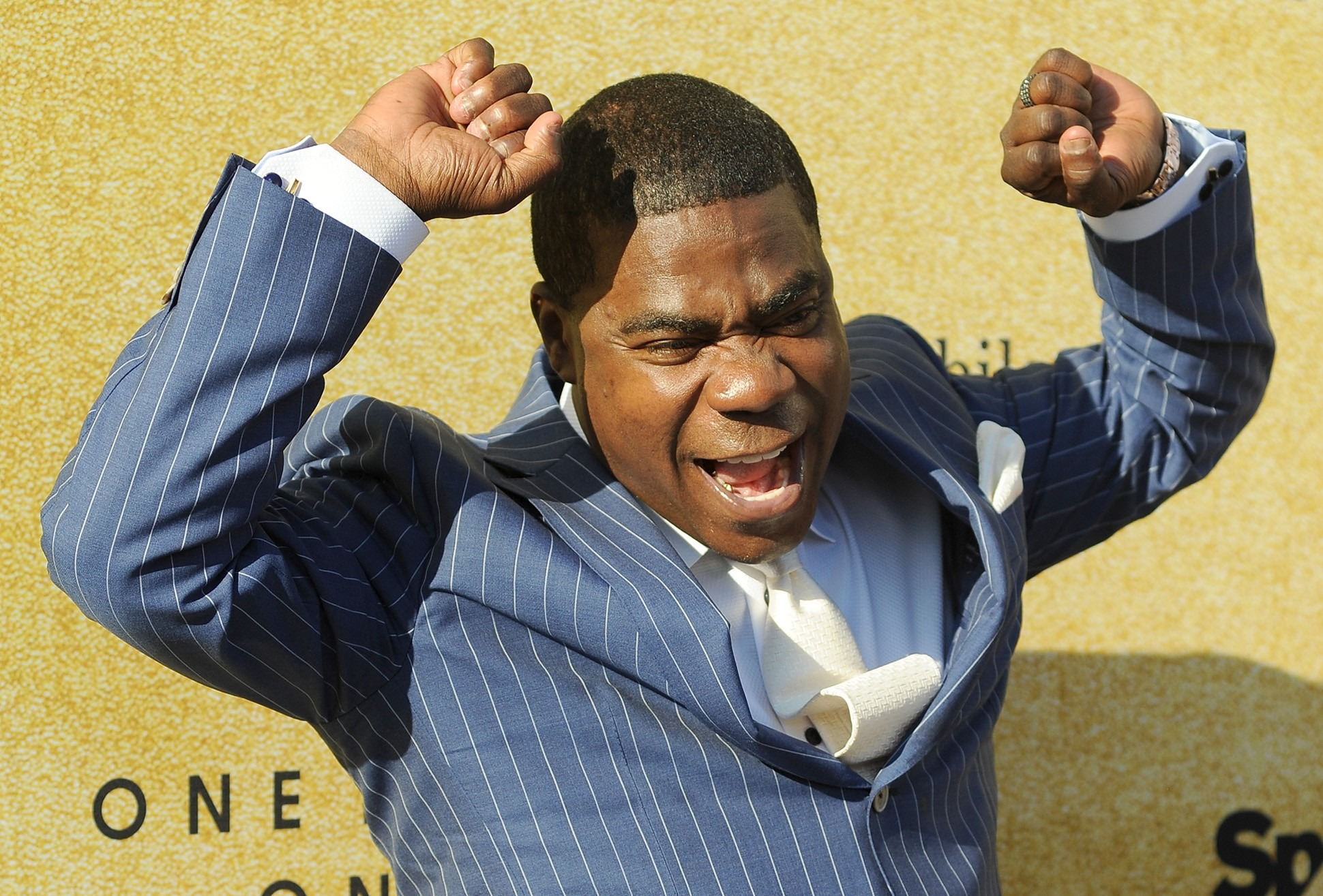 Actor Tracy Morgan Flips Out On Pedestrian Over Lamborghini Run-In