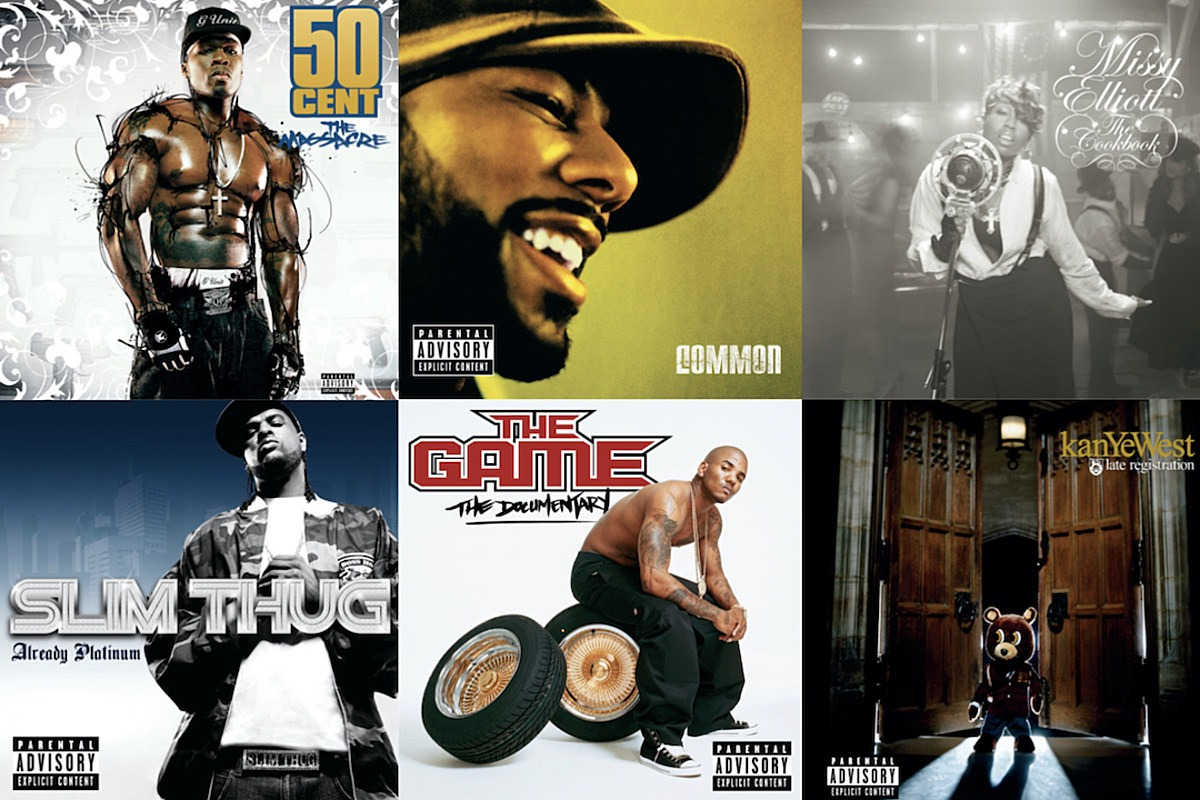 Here Are the Best Hip-Hop Albums From 2005