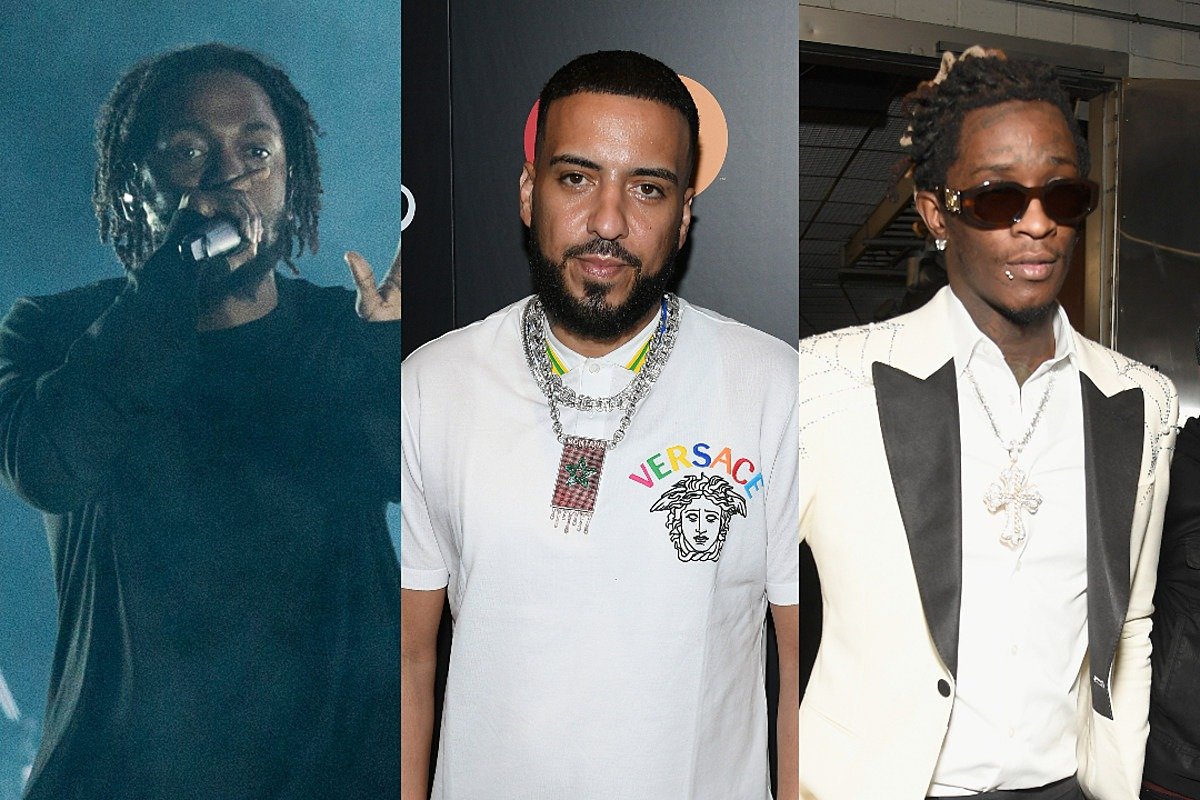 French Montana, Kendrick Lamar, Young Thug: Here's How Many Hits They Actually Have