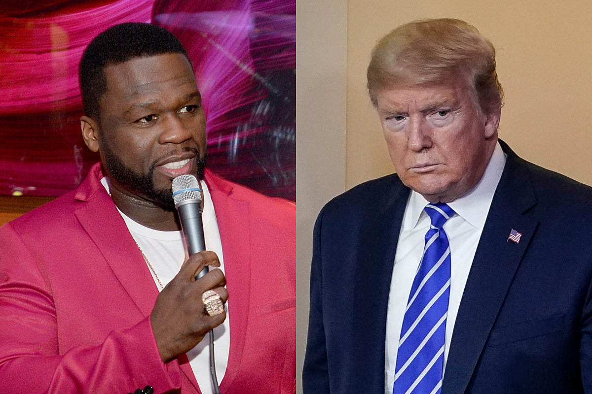 50 Cent Calls President Trump a Nightmare But Thinks He Likes Him After Disinfectant Comments
