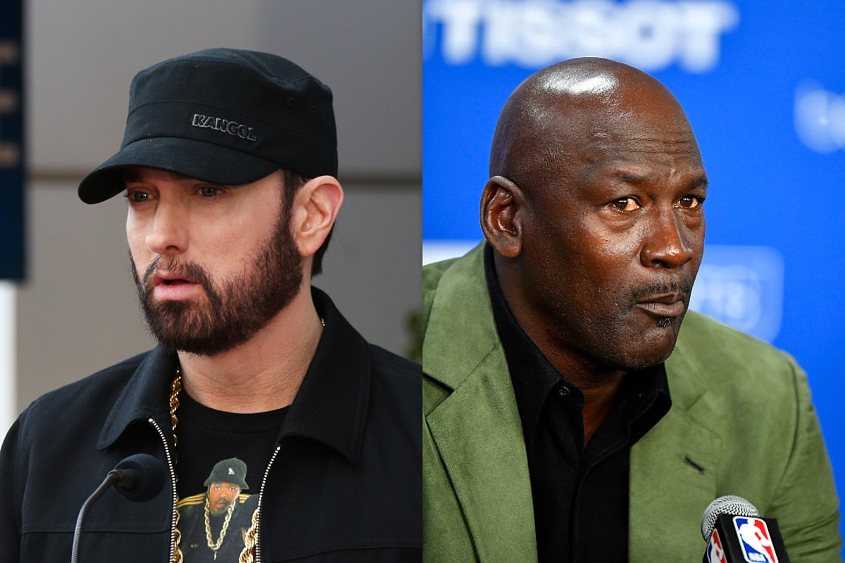 Eminem Once Told Michael Jordan He Could Dunk on Him and Michael Responded With Silence