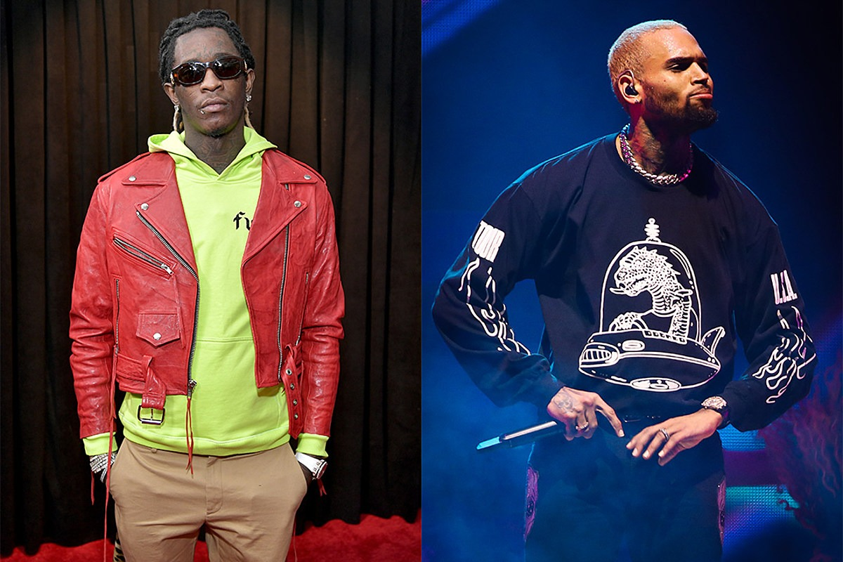 Young Thug and Chris Brown Release Slime & B Mixtape: Listen