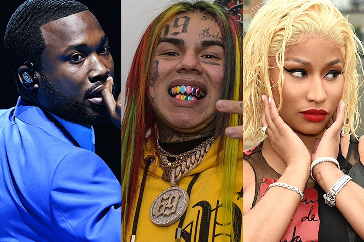 "6ix9ine to Meek Mill: ""Nicki Don't Want You No More"""