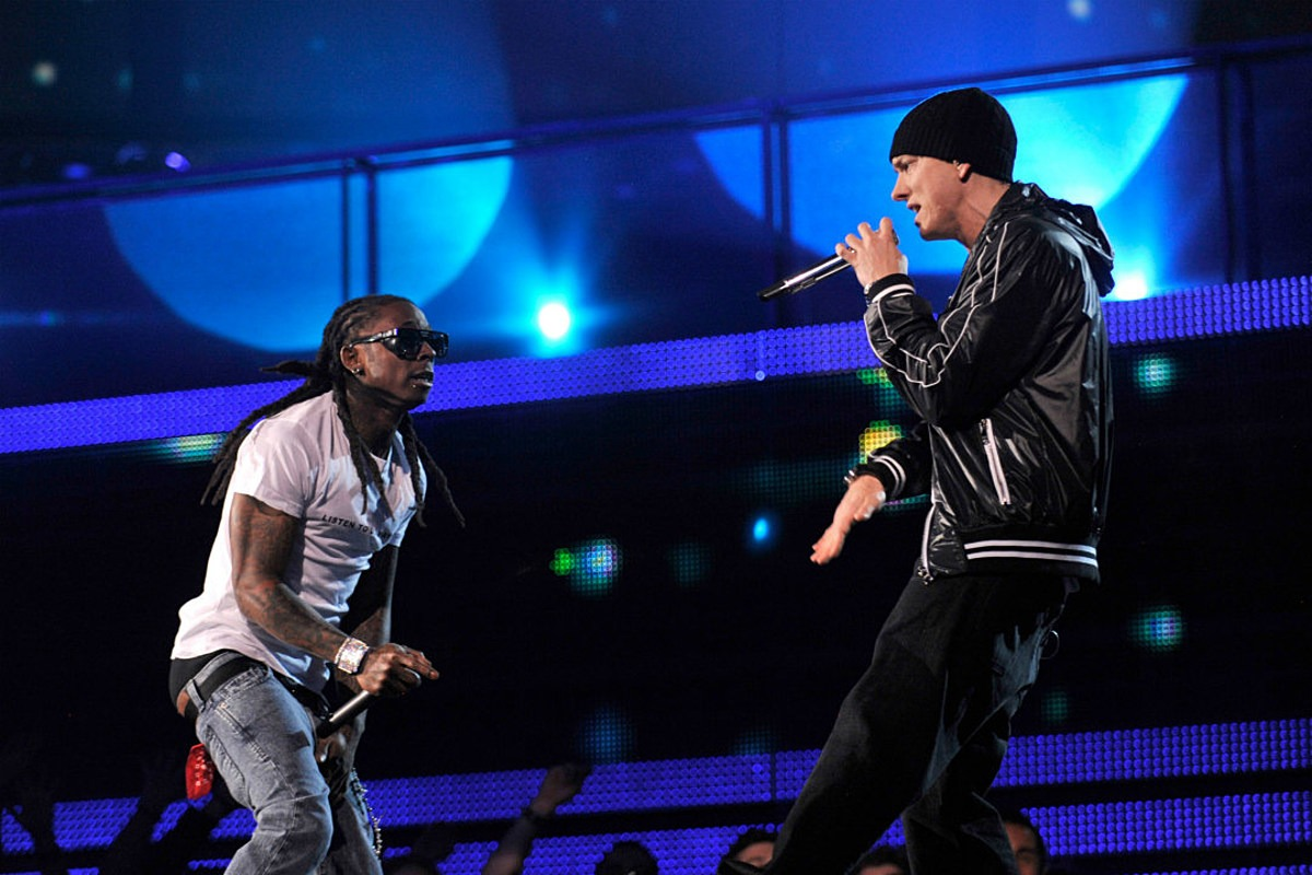 Lil Wayne and Eminem Admit They Google Their Own Lyrics to Make Sure They Aren't Repeating Rhymes