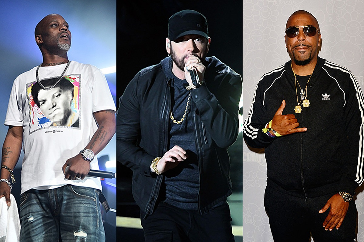 Eminem and DMX Are Down to Do a Hit-For-Hit Battle, Says N.O.R.E.