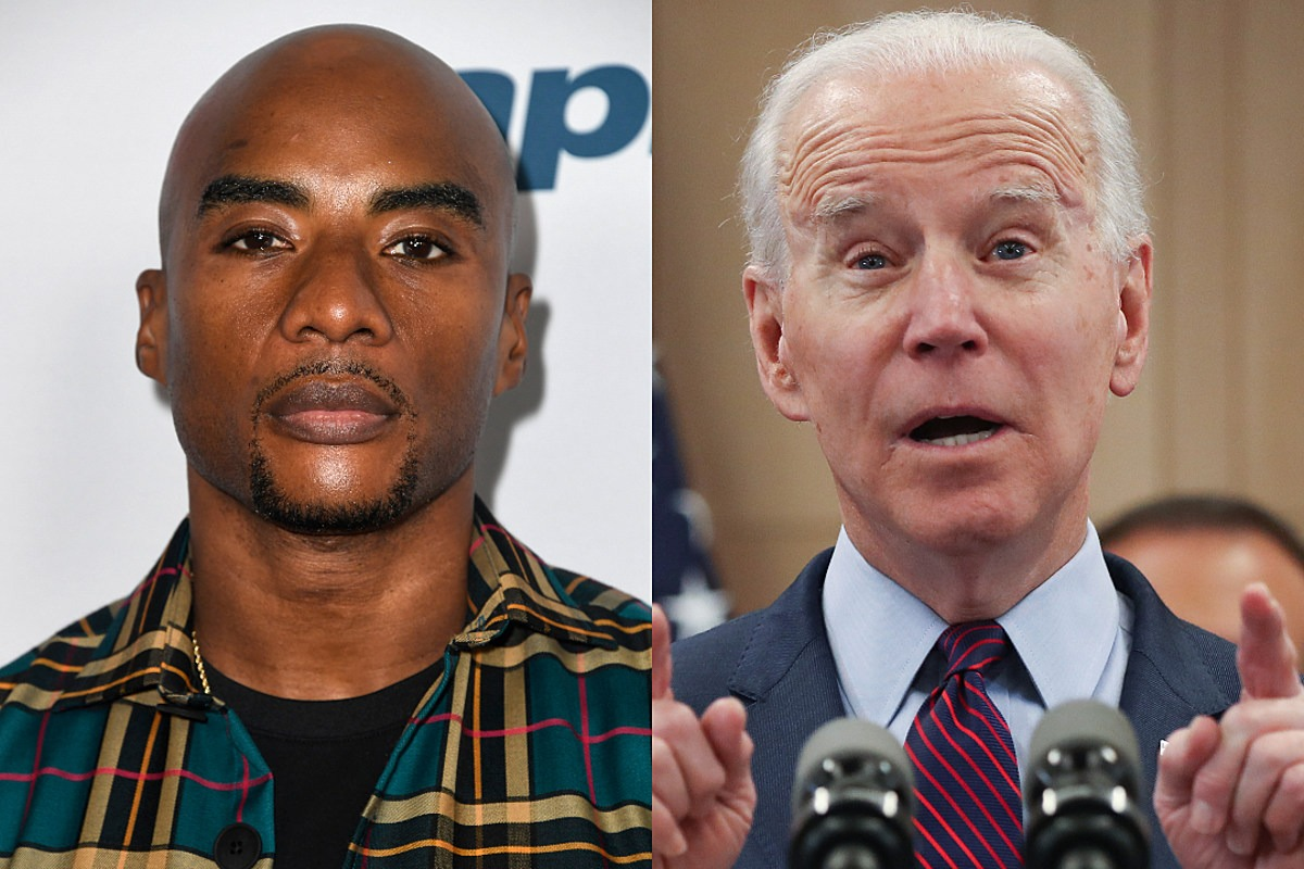 "Joe Biden Tells Charlamagne Tha God Black People ""Ain't Black"" If They're Thinking About Voting for Trump"