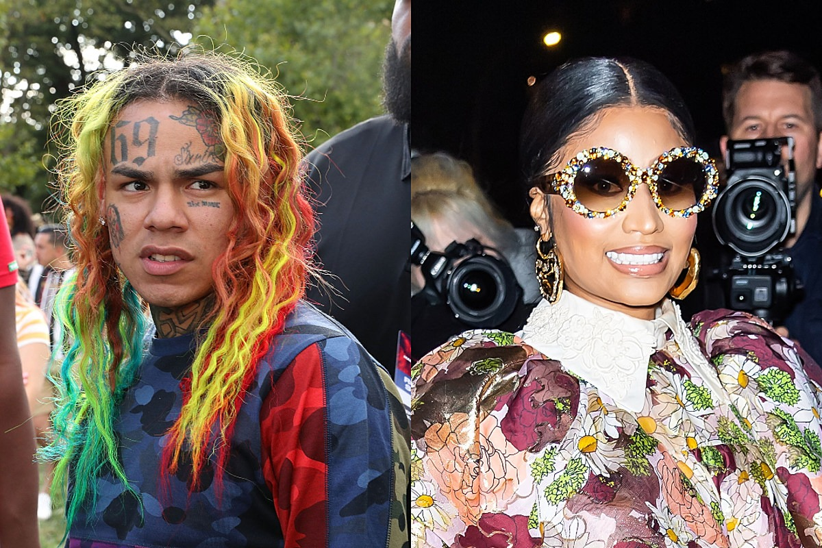Report: 6ix9ine Has a New Song With Nicki Minaj