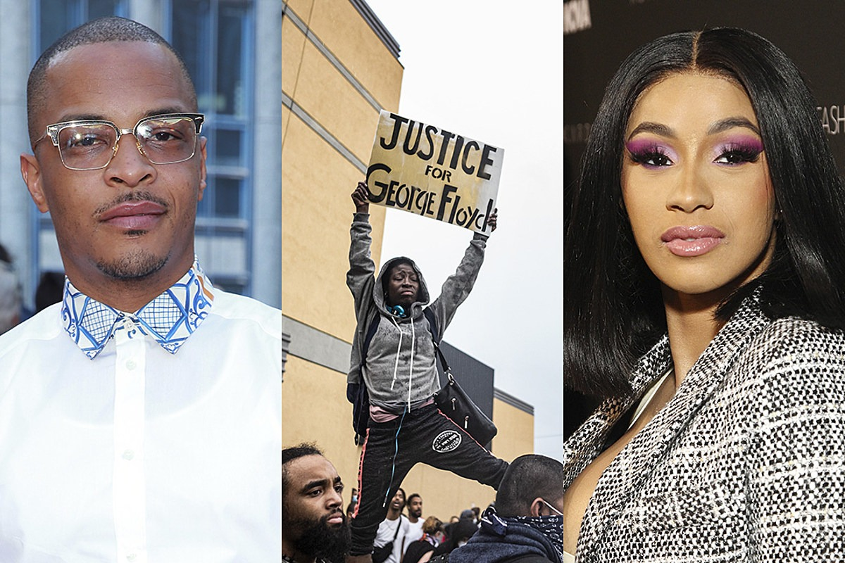 Rappers Demand Justice for George Floyd, Who Was Killed by Police Officer That Pinned His Knee on Floyd's Neck