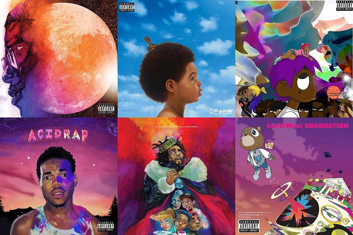 Here Are the Best Illustrated Album and Mixtape Covers of All Time