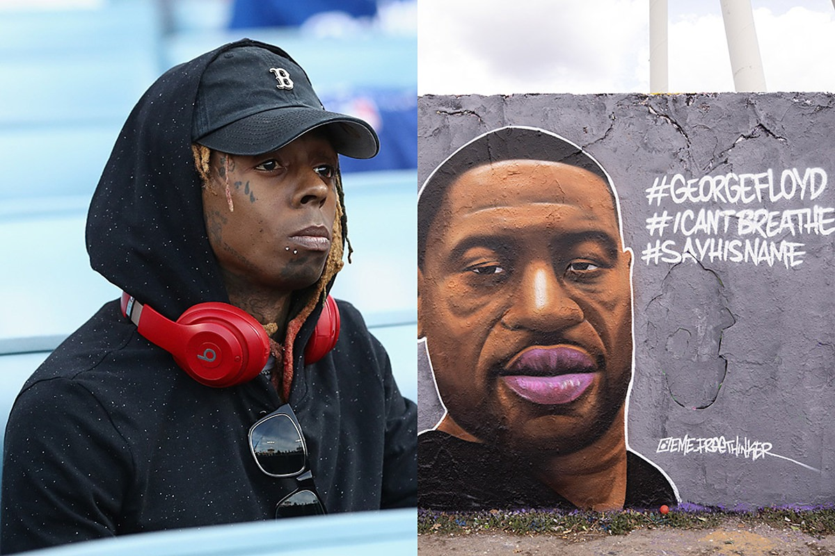 """Lil Wayne Responds to George Floyd's Death, Says We Need to Stop Blaming """"the Whole Force"""" or """"Everybody With a Badge"""""""