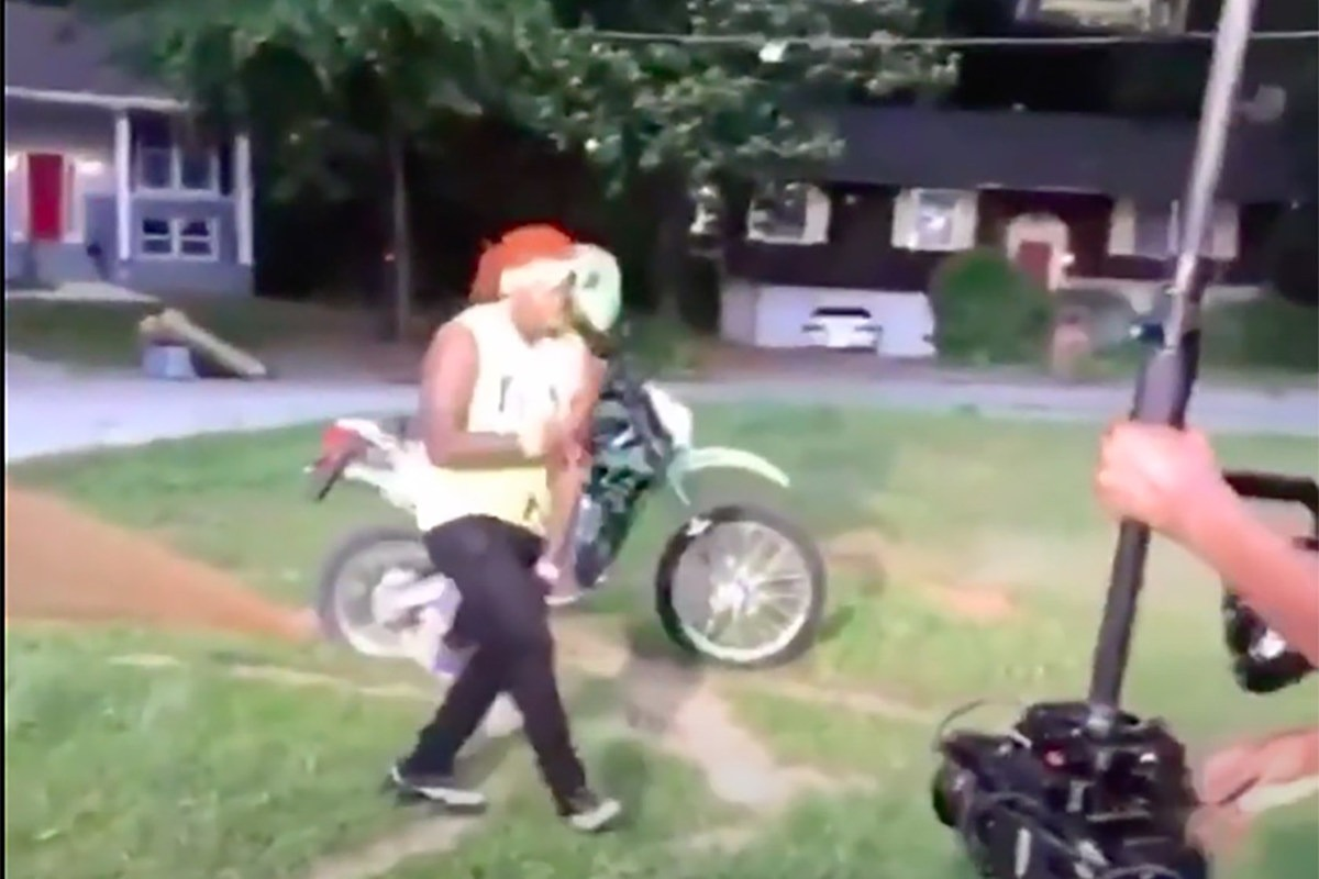 6ix9ine Clowns Gunna After Video Shoot Appears to End in Gunfire: Watch