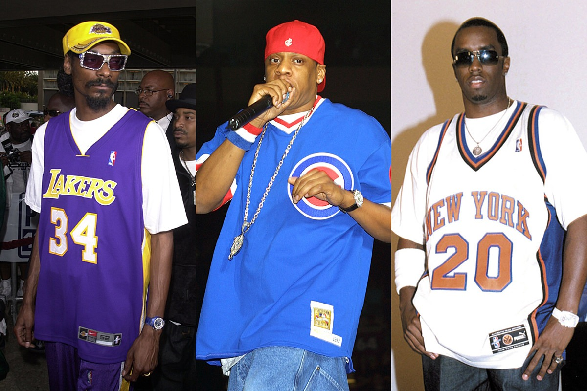 Remember When Rappers Loved Wearing Sports Jerseys All the Time?