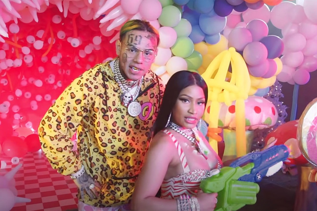 Fans Defend Nicki Minaj for Making New Song With 6ix9ine