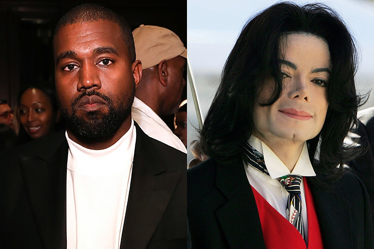 """Kanye West Defends Michael Jackson, Says Companies Shouldn't Be Allowed to Tear Down """"Heroes"""""""