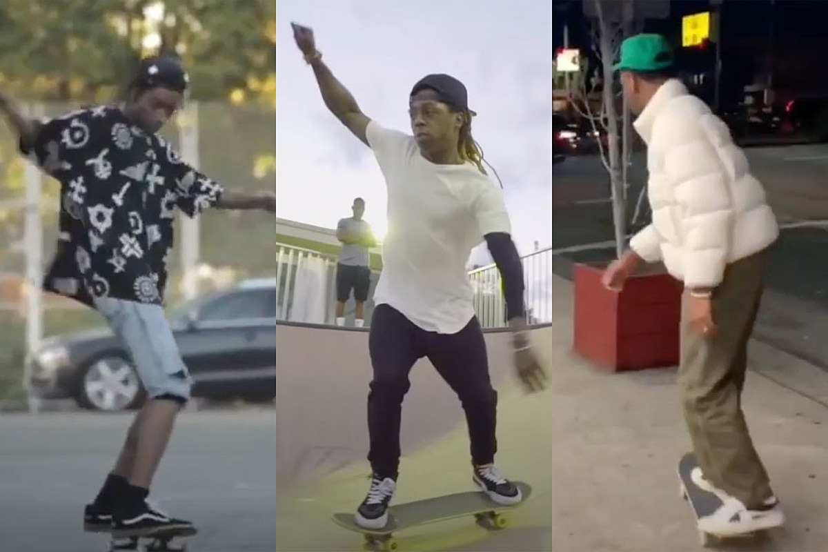 These Rappers Love to Skateboard and Have the Skills to Prove Their Passion