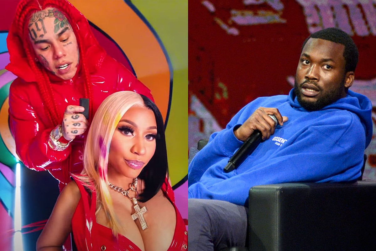 Nicki Minaj Stans Go After Meek Mill After 6ix9ine Calls Him Out