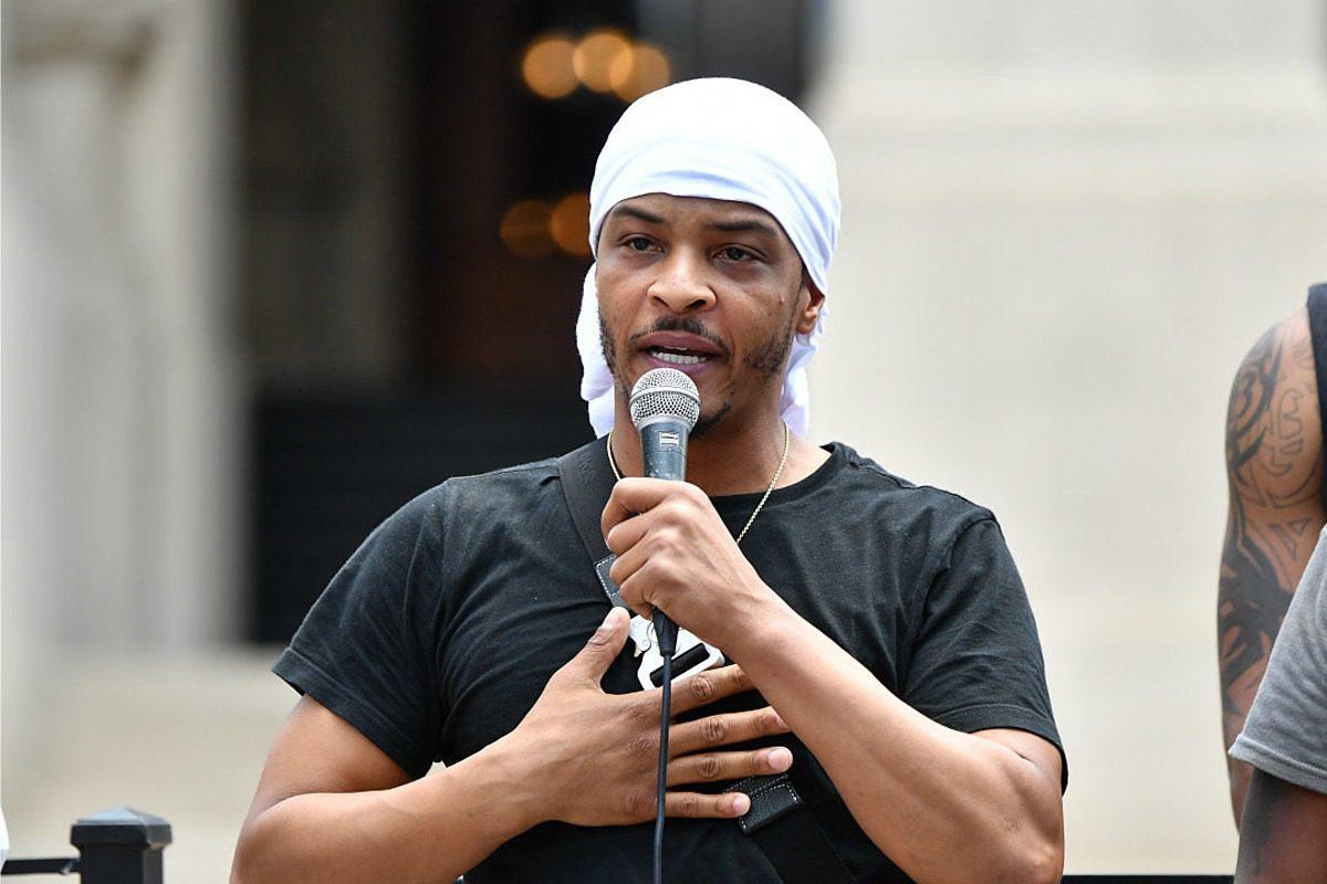 T.I. Joins Atlanta Protest Over Death of Rayshard Brooks