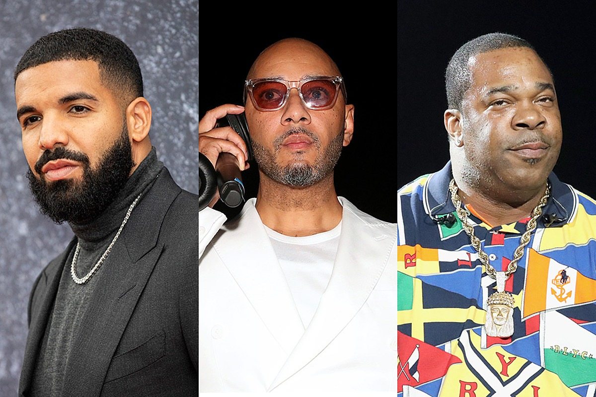 """Swizz Beatz Calls Drake a """"P!*&y Boy"""" for Not Allowing Song With Busta Rhymes to Be Released"""