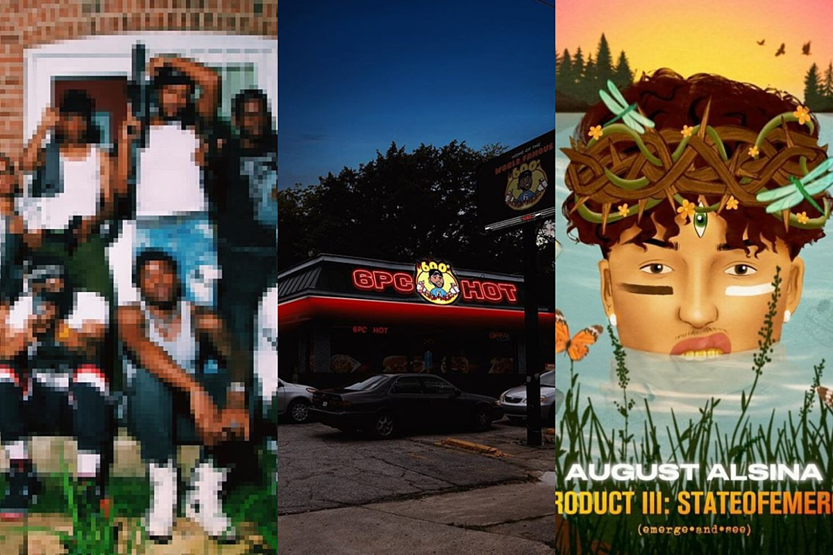 6lack, Idk, August Alsina and More: New Projects This Week