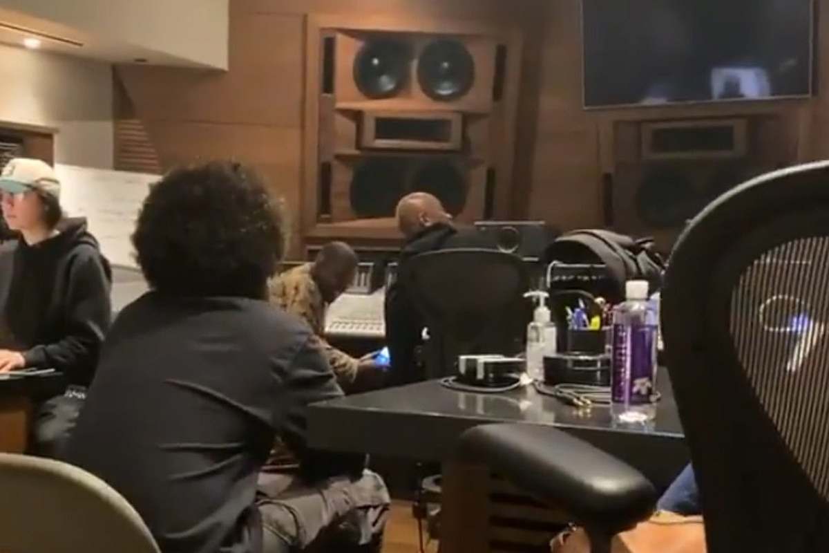 Snoop Dogg Sneaks Video of Kanye West and Dr. Dre Working on New Music: Watch