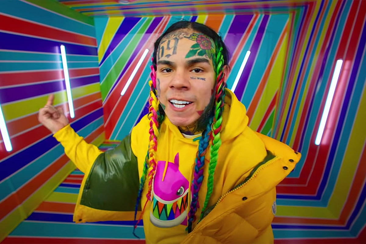 6ix9ine Promises New Single Next Week, Will Be Off House Arrest Soon