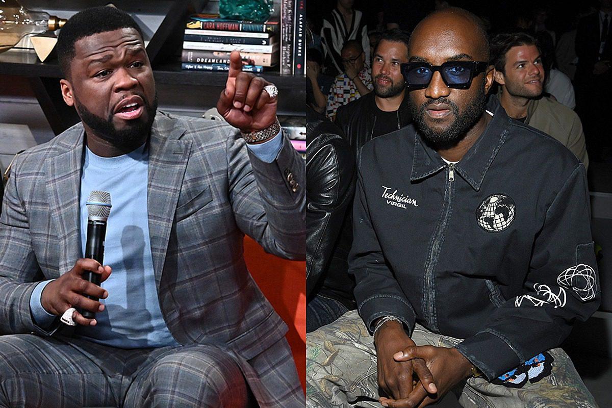 "50 Cent Says ""F@!k"" Virgil Abloh After Pop Smoke's After Pop Smoke's Album Cover Backlash"