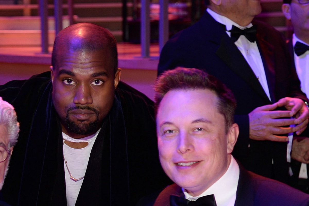 Elon Musk Cosigns Kanye West's Presidential Campaign Announcement