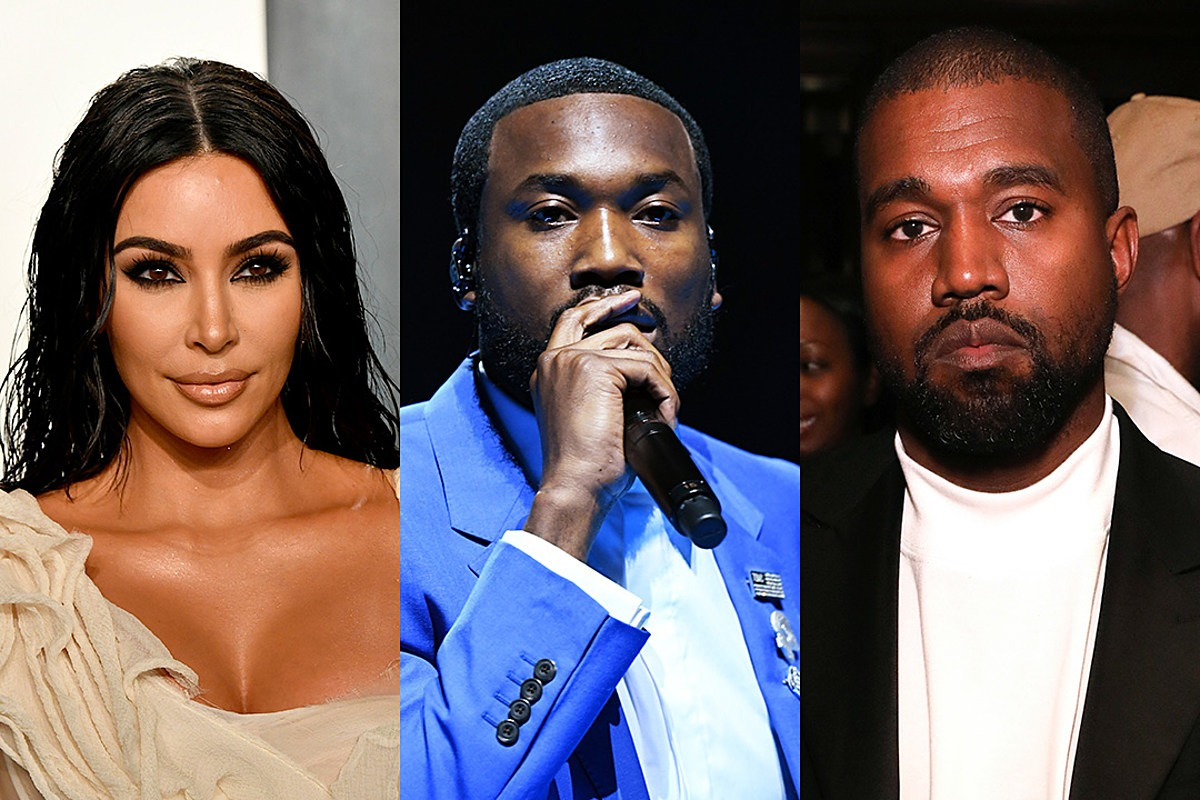 Photo of Meek Mill and Kim Kardashian's Prison Reform Meeting Surfaces Following Kanye West's Accusation