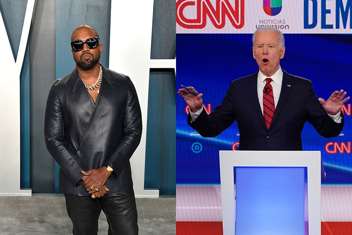 Kanye West Says He Can Beat Joe Biden for President by Write-Ins