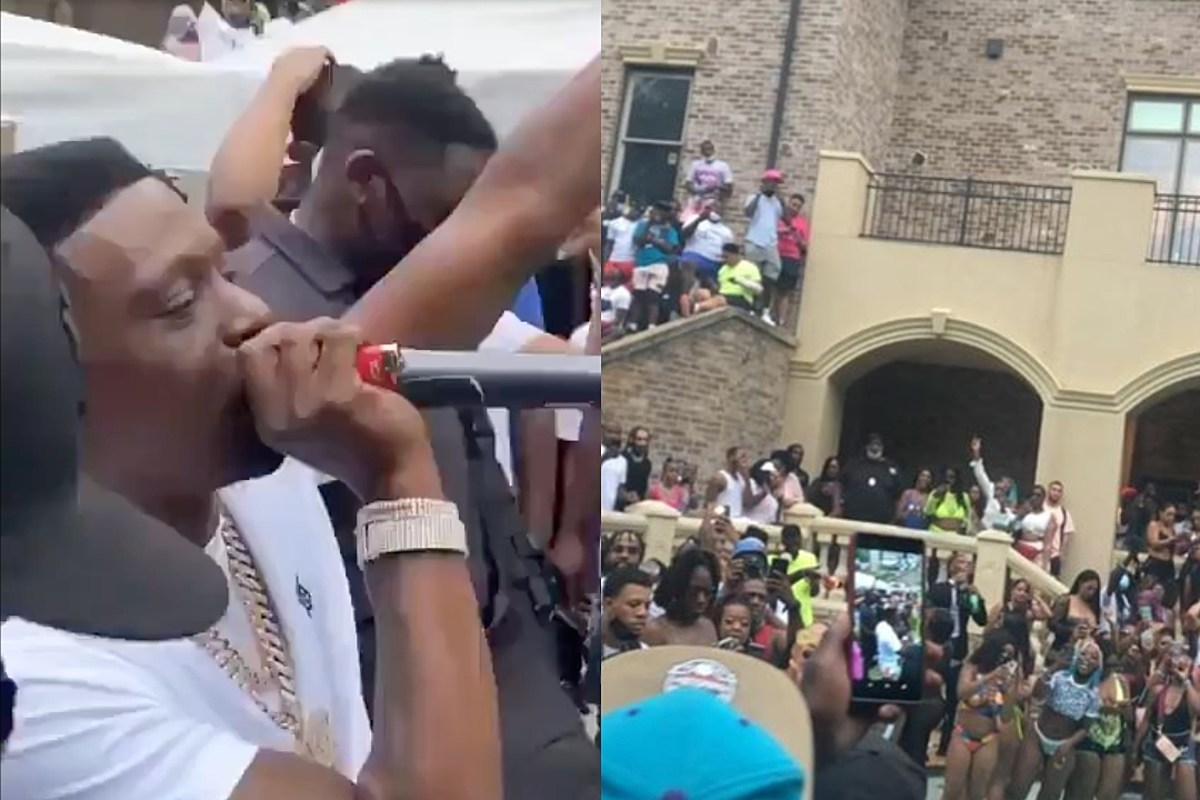 Boosie BadAzz Hosts Pool Party With Massive Turnout During Coronavirus Pandemic, Faces Backlash