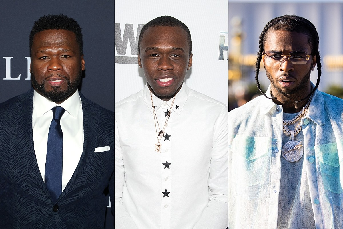 50 Cent's Son Says He's Replacing His Dad With Pop Smoke for Top 5 Favorite Rappers