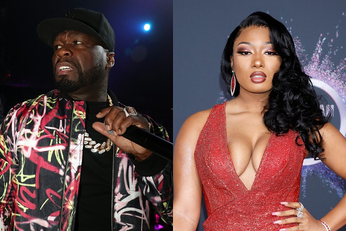 50 Cent Apologizes to Megan Thee Stallion for Posting Meme About Shooting Incident