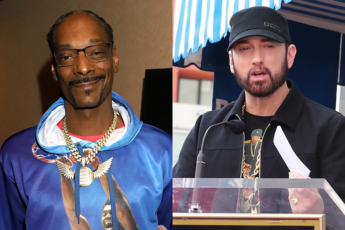 Snoop Dogg Says Eminem Isn't in His Top 10 Rappers