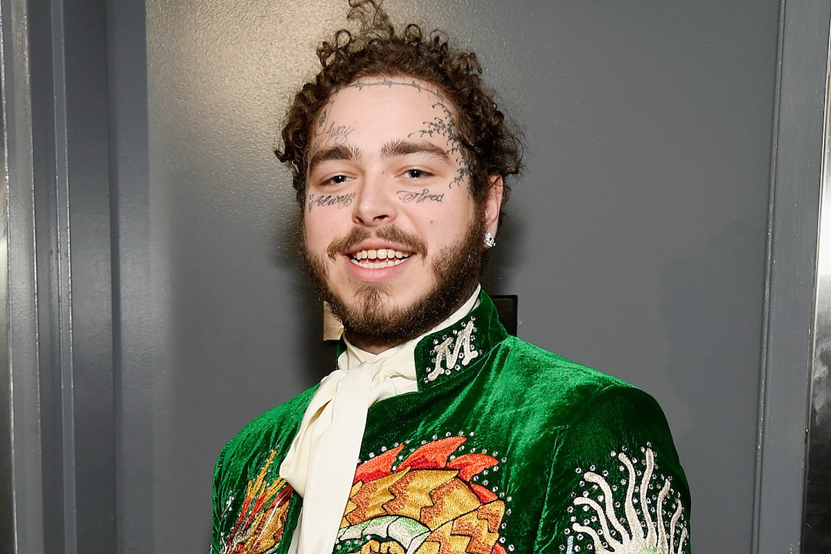 Post Malone Thinks People Shouldn't Be Fined If They Don't Wear Masks During Coronavirus Pandemic