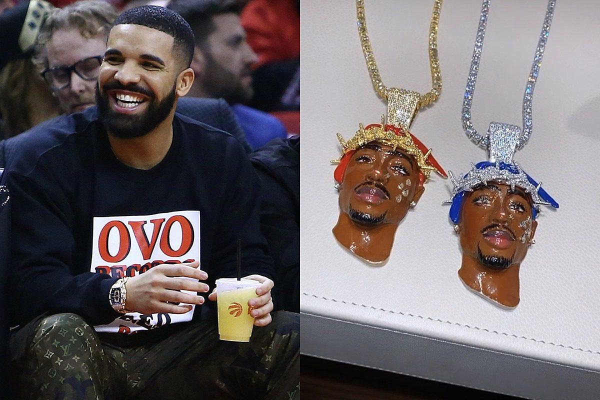 Drake Drops $600,000 on Two Tupac Shakur Chains: Report