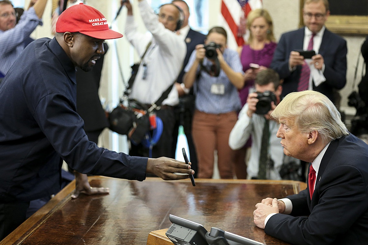 Republicans Are Helping Kanye West Get on Presidential Ballot to Take Votes Away From Biden: Report