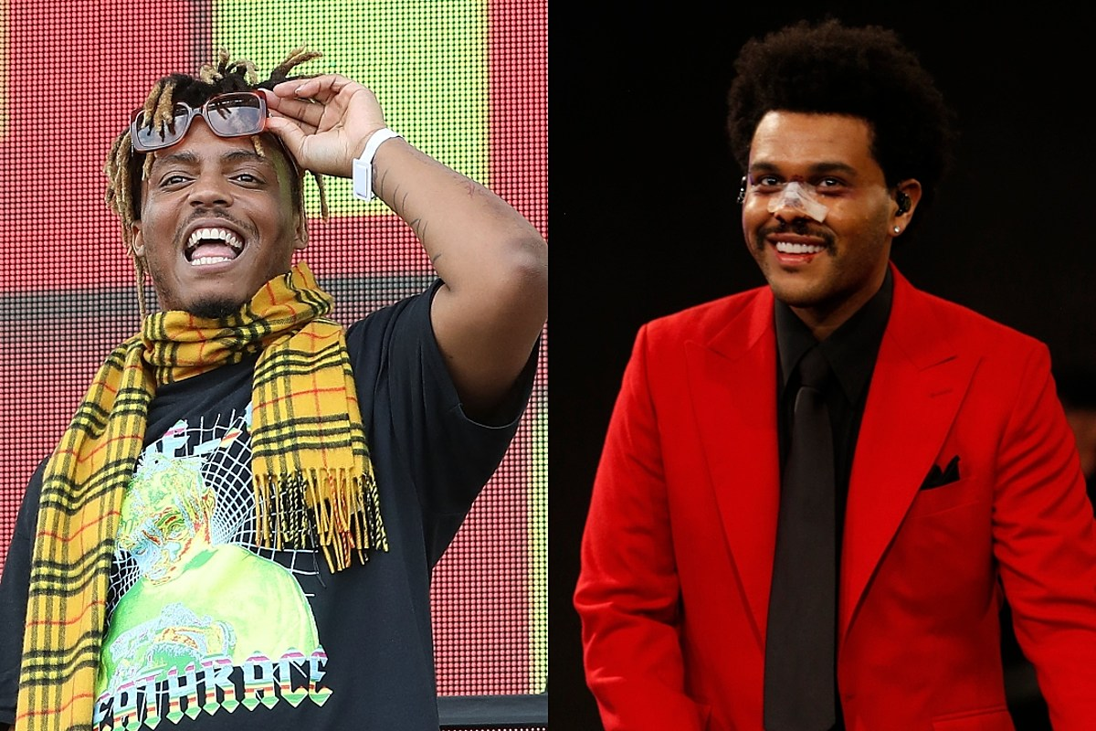 """Hear Juice Wrld and The Weeknd's New Song """"Smile"""""""