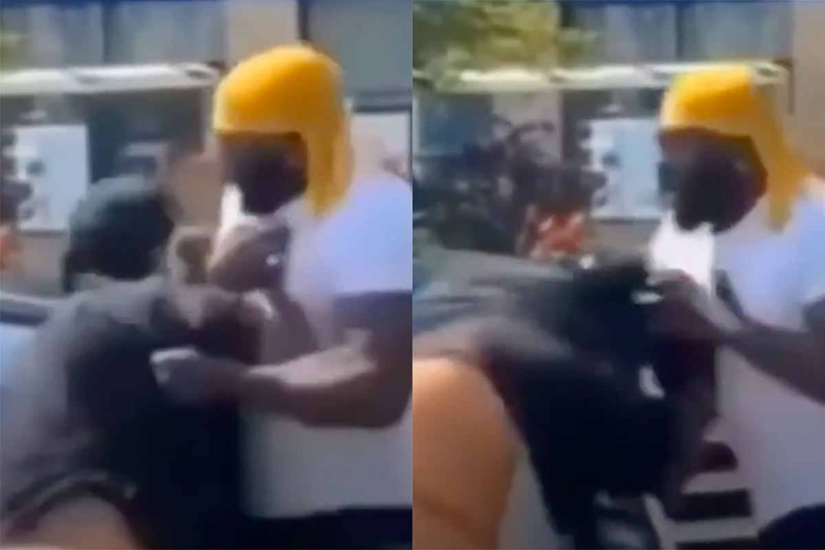 Man Fights 6ix9ine's Security After They Take His Phone: Watch