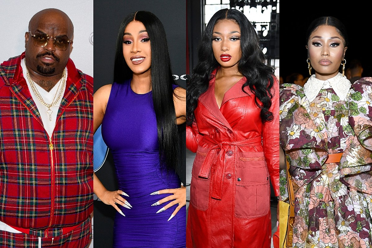 """CeeLo Green Criticizes Cardi B and Megan Thee Stallion for """"Adult Content"""" in Their Music, Says Nicki Minaj's Influence """"Feels Desperate"""""""