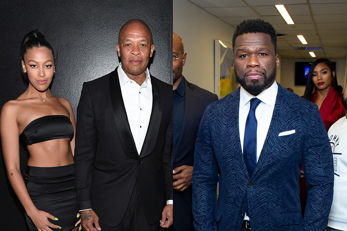 """Dr. Dre's Daughter Blasts 50 Cent for Comments About Her Mother: """"F!#k You"""""""