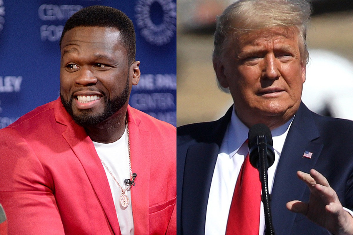 """50 Cent Says """"Vote for Trump"""" After Seeing Joe Biden's Tax Plan"""