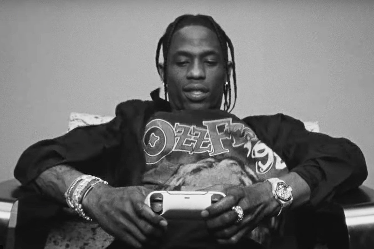 Travis Scott Joins PlayStation as Creative Partner