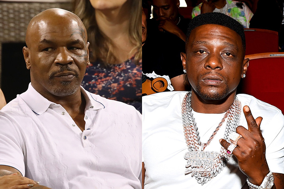 Mike Tyson Confronts Boosie BadAzz About Comments on Dwyane Wade's Transgender Daughter, Asks If Boosie Is Homosexual