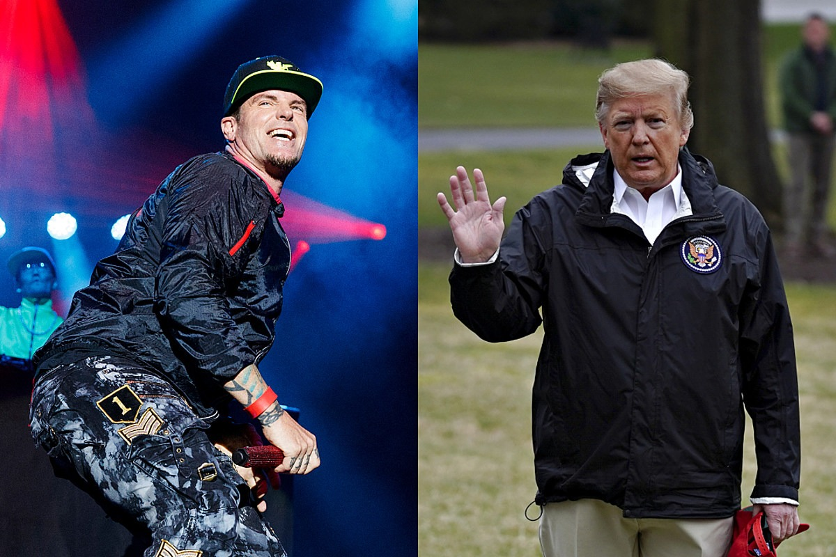 Vanilla Ice Performs at President Trump's New Year's Eve Party, Trump Doesn't Even Show Up