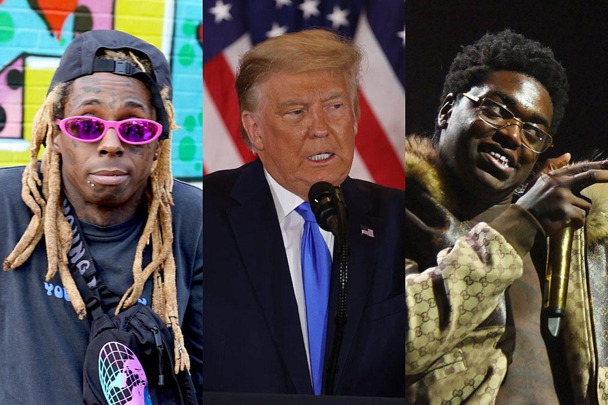 President Trump Considering Pardoning Lil Wayne and Kodak Black Before He Leaves Office